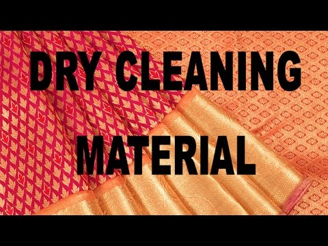 Dry Cleaning Material.