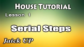 Видео уроки танцев /House dance Tutorial /serial steps/ Lesson1