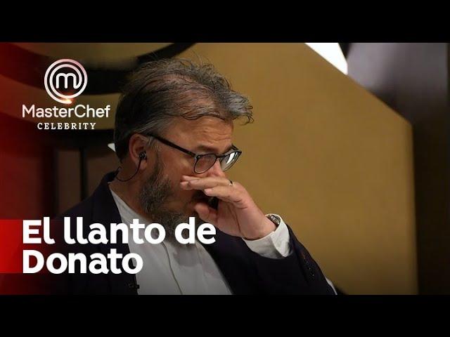 ¡La historia de Claudia Villafañe que hizo llorar a Donato de Santis! - Masterchef Argentina 2020
