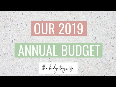 2019 ANNUAL BUDGET PLANNING | OUR 2019 BUDGET