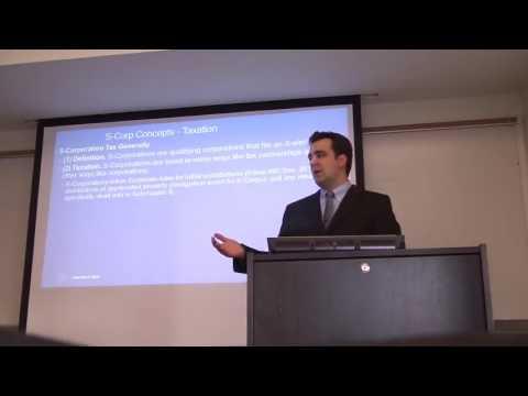 S-Corporations Introduction - Part 1
