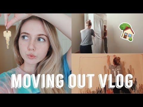 MOVING INTO MY FIRST APARTMENT! (VLOG)