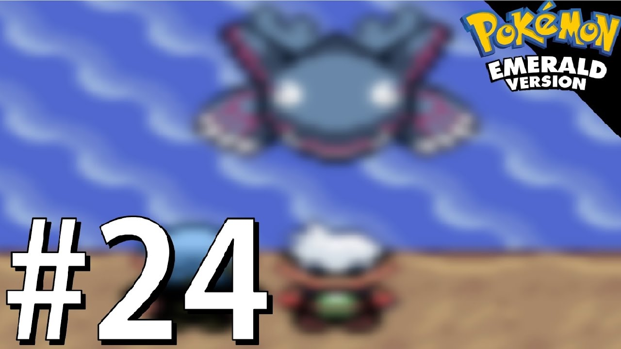 Awakening Kyogre - Seafloor Cavern! | Pokemon Emerald ...