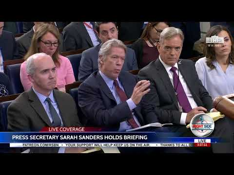 FULL EVENT: White House Press Briefing w/ Sarah Sanders - 2/6/18