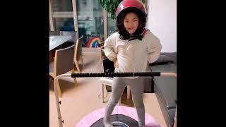 크레용팝 헬멧 댄스