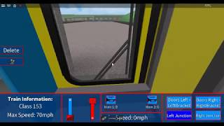 ROBLOX - Grand Continental Railways - Super Sprinter Class 153 1st Person Cab Drive!