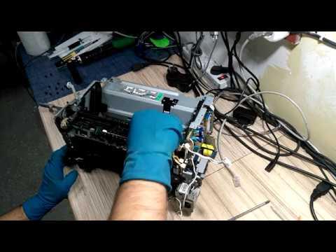 Инструкция как разобрать и собрать Canon I-SENSYS MF3010 (замена термопленки)