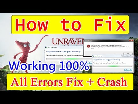 How to Fix Unravel Crashes + All Errors Fixed 100% Working