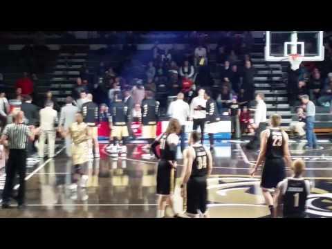 Oakland University 2016 basketball introductions