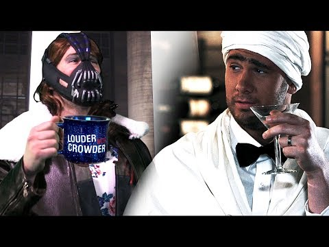Tranny Bane vs. Jihadi Bond! (Part 1) | Louder With Crowder