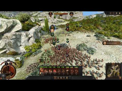 A Total War Saga TROY Chasing the rest of enemy units ! |