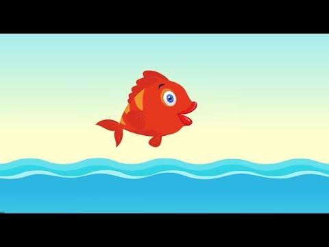 Kırmızı Balık Gölde Kıvrıla Kıvrıla Yüzüyor - Çocuk Şarkıları 2017