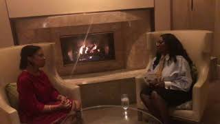 Talk Show Host Sheila Thorne Interviews Author Grace Carrington