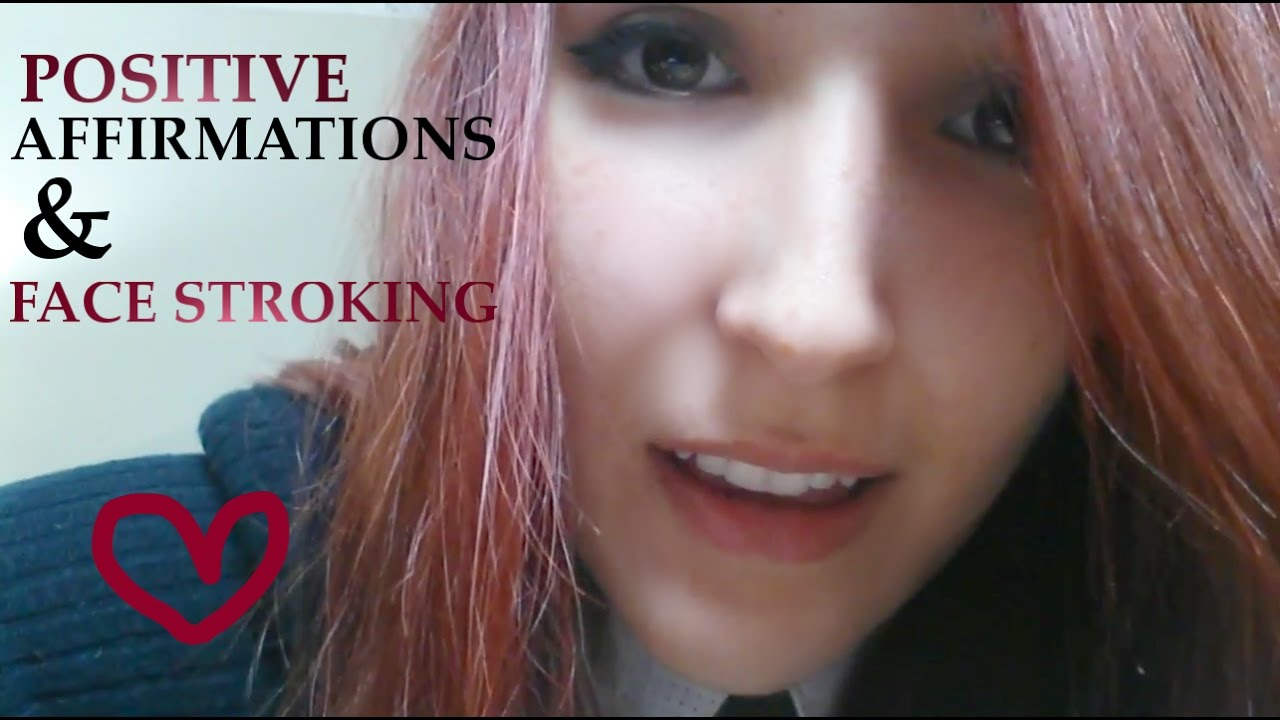 Asmr Caring Friend Helping You Get To Sleep Positive Affirmations Face Stroking Youtube