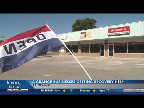 KXAN - LaGrange businesses getting recovery help