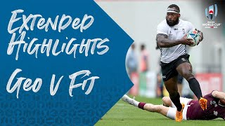 Extended Highlights: Georgia 10-45 Fiji - Rugby World Cup 2019