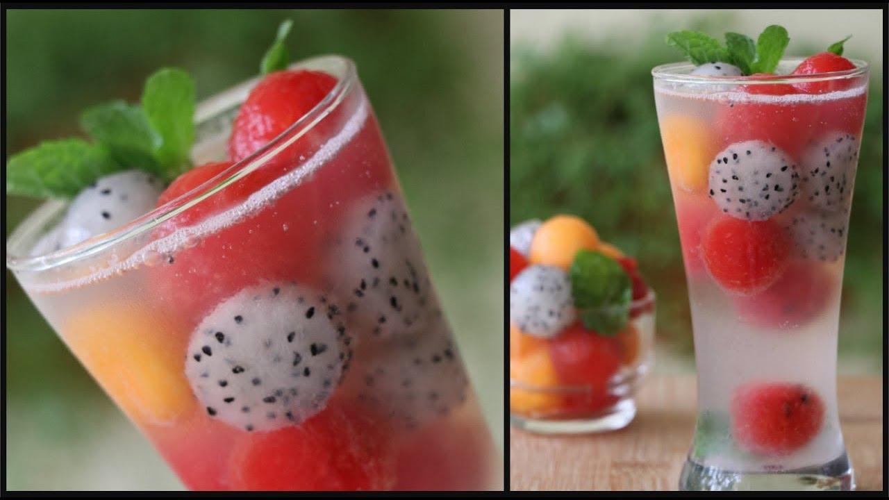 Melon Ball Lemonade Recipe Soda Lemonade Fruit Juices Welcome