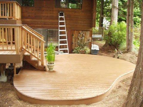 inexpensive outdoor patio floor ideas - youtube - Outdoor Patio Floor Ideas