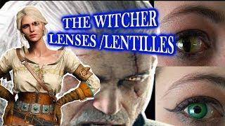 Lentilles /the witcher 3 LENSES MAKE UP
