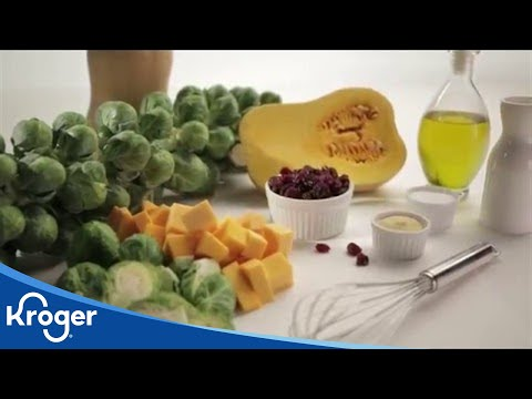 How to Make Roasted Brussels Sprouts & Squash | Kroger Recipes | Kroger