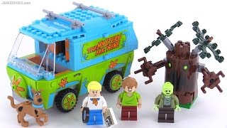 LEGO Scooby Doo The Mystery Machine reviewed! set 75902
