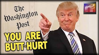 Butt-Hurt Washington Post Has TWO WORDS for President Trump's Fake News Awards