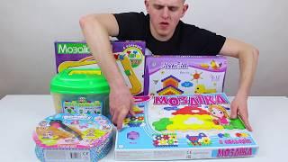 Как выбрать мозаику для детей. Виды детских мозаик.
