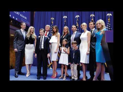DONALD TRUMP FAMILY★Melania★ Ivanka ★Tiffany★ Eric and more relatives