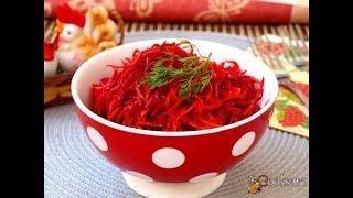Салат из сырой моркови и свеклы Диетические блюда