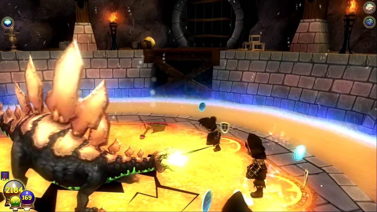 Wizard101: Aquila Secret Bosses - Gladiator Dimachaerus