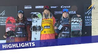 Chloe Kim leads US podium sweep at Copper HP World Cup | Highlights