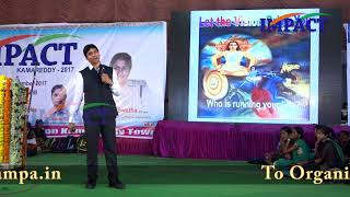 4 Dimentions of LIFE by  Venu Bhagawan  at IMPACT Kamaredy 2017