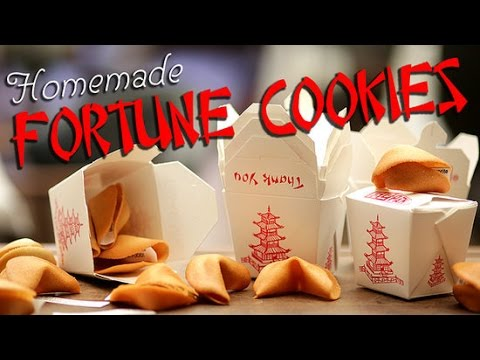 How to Make Homemade Fortune Cookies | Get the Dish