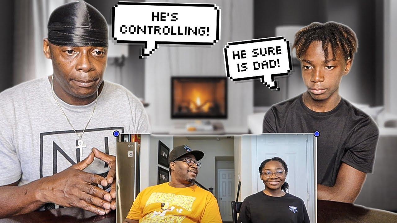 MY DAUGHTER IS NOT ALLOWED TO DATE 13 YR OLD DARION FROM THE PRINCE FAMILY(THE CRYER FAMILY REACTS)