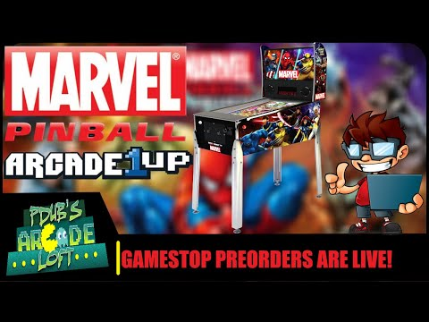 Arcade1Up Marvel Pinball Pre-Orders are LIVE! Why is it $550? from PDubs Arcade Loft