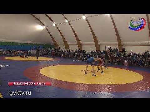 Международный турнир по вольной борьбе среди юношей завершился победой вольников из Хасавюрта