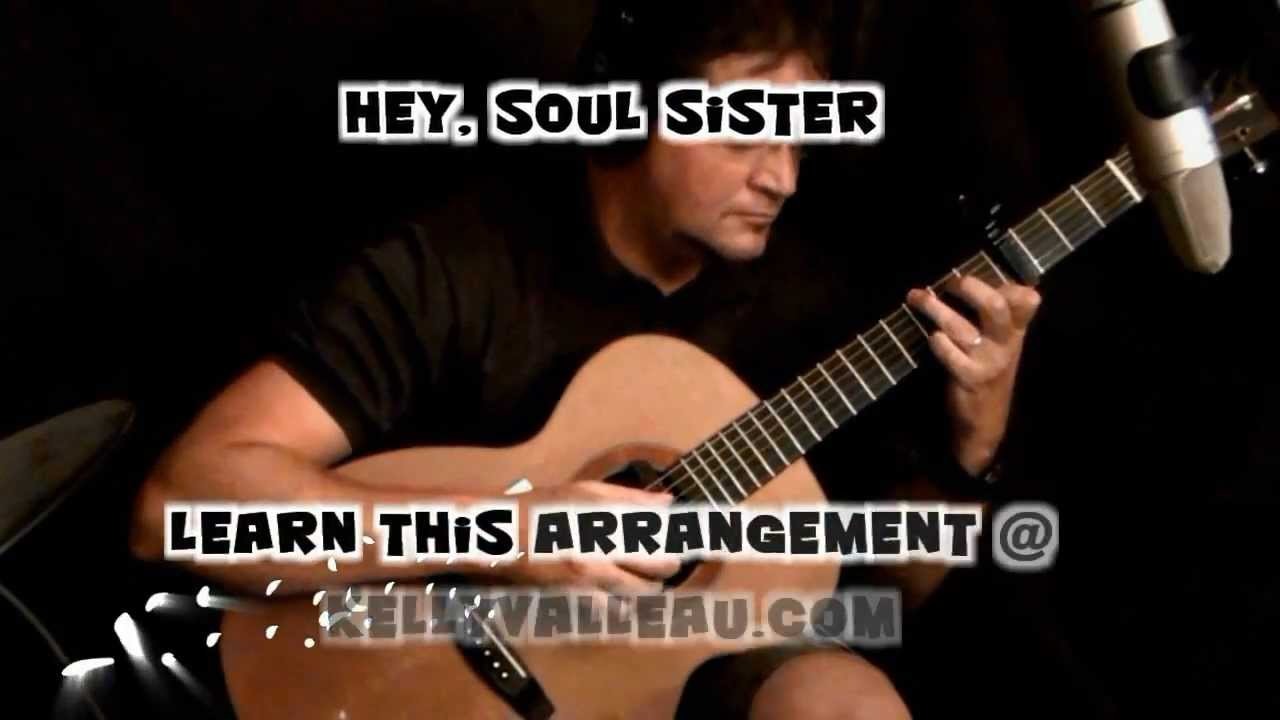 how to play hey soul sister on guitar