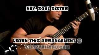 Hey, Soul Sister (Train) - Fingerstyle Guitar