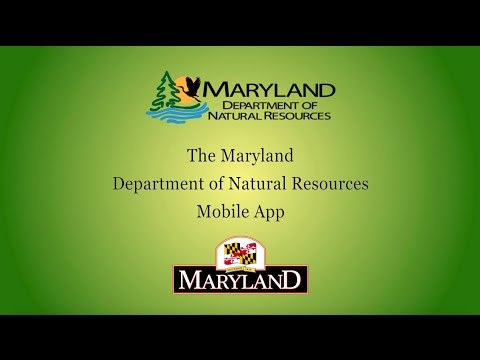 The Maryland Department Of Natural Resources Mobile App