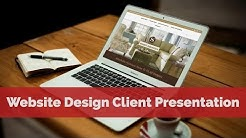 Website Design Client Presentation - Furniture Store & Interior Designer in Spring Hill, Florida