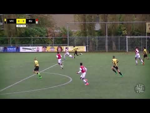 VFC JO15-2 - Rotterdam United JO15-1 (30 september 2017, 1-2)