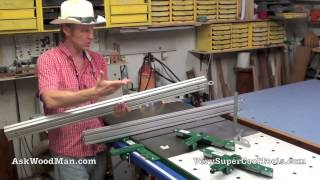Vsc Tools Table Saw Fence For Slidingtable Saws - Both Metric And Sae