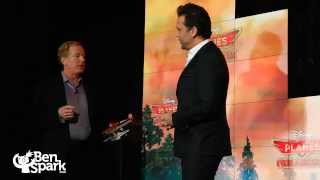 Dane Cook Talks Planes 2 at Toy Fair 2014