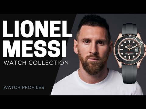 Lionel Messi Watch Collection | SwissWatchExpo