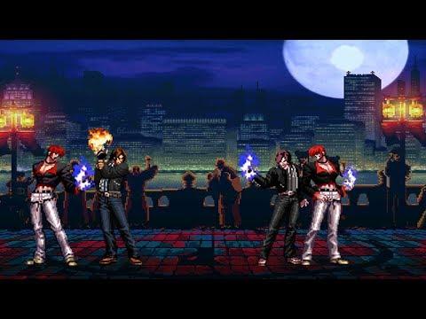 Mugen - King of Fighters - Iori/Kyo vs. Orochi Kyo/Orochi Iori - 八神庵/草薙京 vs. 大蛇京/暴走八神庵