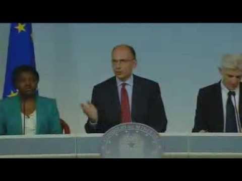 Consiglio dei Ministri n.18 - (02/08/2013)