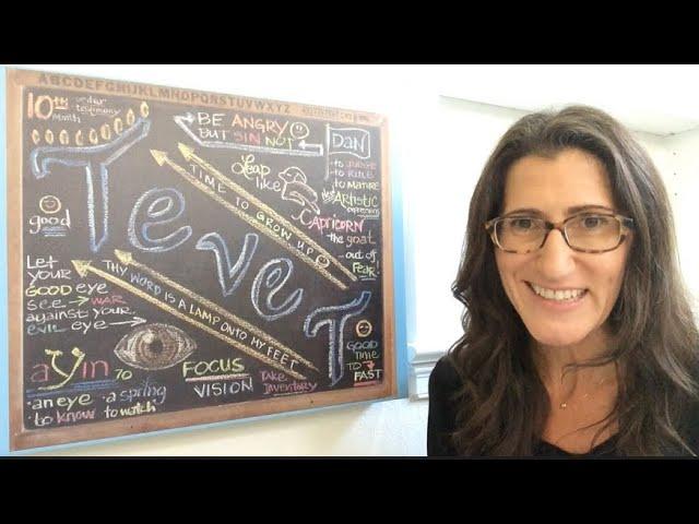 TEVET 5781 Chalkboard Teaching by Christine Vales
