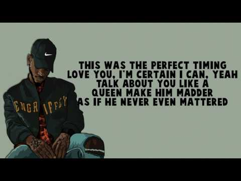 No Longer Friends - Bryson Tiller (Lyrics)
