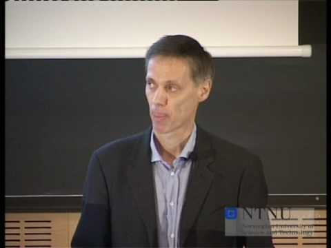 NTNU's Onsager Lecture, by Terence Tao, part 1 of 7