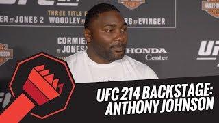 UFC 214 Backstage: Anthony Johnson